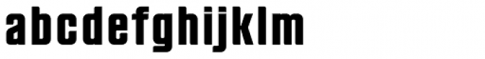 Anorak Condensed Bold Font LOWERCASE