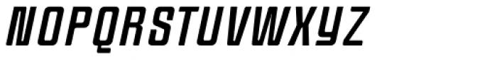 Anorak Condensed Italic Font UPPERCASE