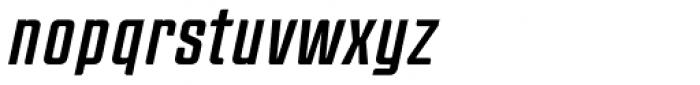 Anorak Condensed Italic Font LOWERCASE