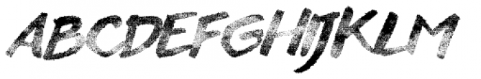 Another Raw Shabby Font UPPERCASE