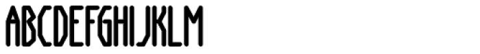 Anoxia AOE Bold Font UPPERCASE