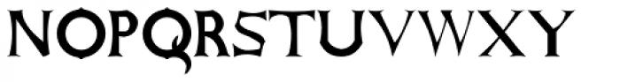 Antares Bold Font UPPERCASE