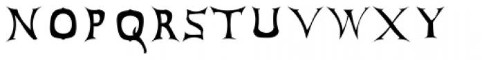 Antares Testura Bold Font UPPERCASE
