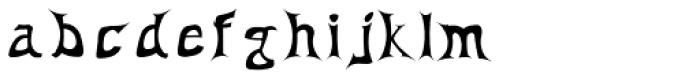 Antares Testura Bold Font LOWERCASE
