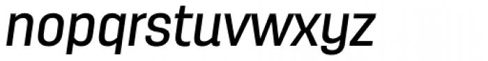 Antartida Medium Italic Font LOWERCASE