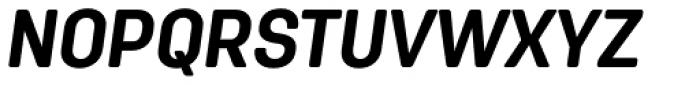Antartida Rounded Bold Italic Font UPPERCASE