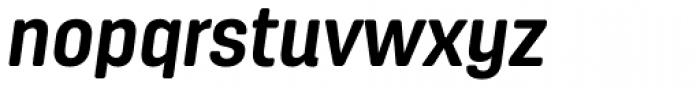 Antartida Rounded Bold Italic Font LOWERCASE
