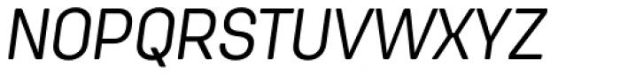 Antartida Rounded Essential Light Italic Font UPPERCASE