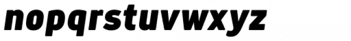 Anteb Alt Extra Black Italic Font LOWERCASE