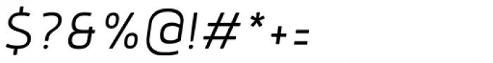 Anteb Alt Light Italic Font OTHER CHARS