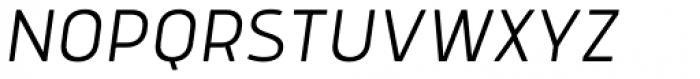 Anteb Alt Light Italic Font UPPERCASE