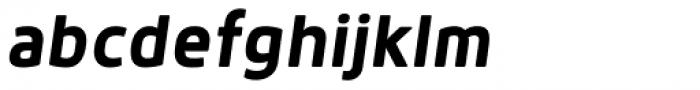 Anteb Bold Italic Font LOWERCASE