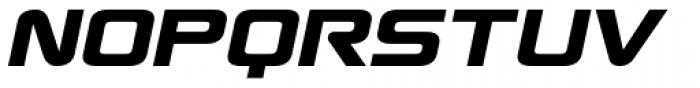 Antediluvian Italic Font UPPERCASE