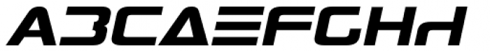 Antediluvian Italic Font LOWERCASE