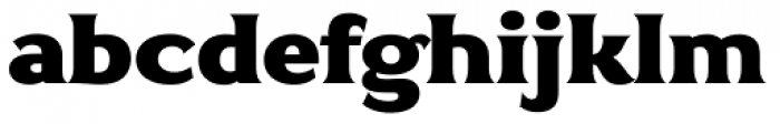 Antey Black Font LOWERCASE