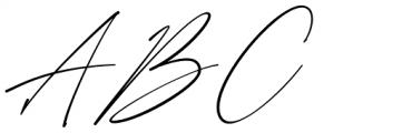 Anthoni Signature Regular Font UPPERCASE