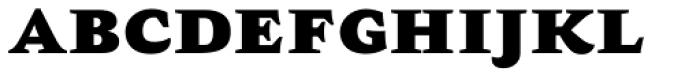 AntiQuasi Black Caps Font LOWERCASE