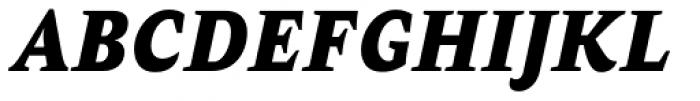 AntiQuasi Black Italic Font UPPERCASE