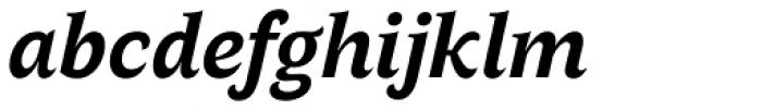 AntiQuasi Bold Italic Font LOWERCASE