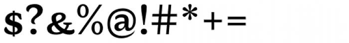 AntiQuasi Demi Bold Caps Font OTHER CHARS