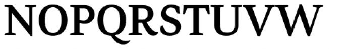 AntiQuasi Demi Bold Caps Font UPPERCASE
