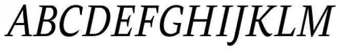AntiQuasi Italic Font UPPERCASE