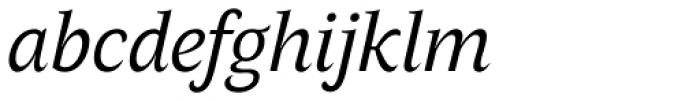 AntiQuasi Italic Font LOWERCASE