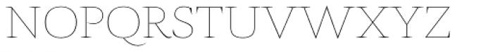 AntiQuasi Thin Caps Font LOWERCASE