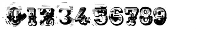 AntiRomantic Regular Font OTHER CHARS