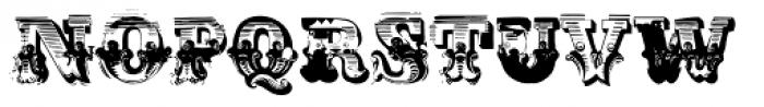 AntiRomantic Regular Font UPPERCASE