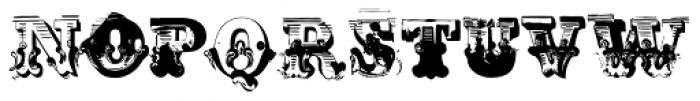 AntiRomantic Regular Font LOWERCASE