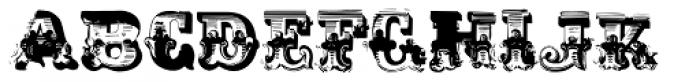 AntiRomantic Small Caps Font UPPERCASE