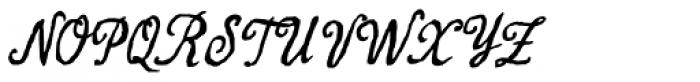 Antigua 2 Font UPPERCASE