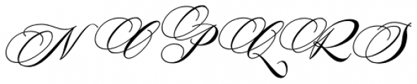 Antika Italic Font UPPERCASE