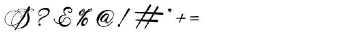 Antika Regular Font OTHER CHARS
