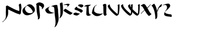 Antioch Uncial Font LOWERCASE