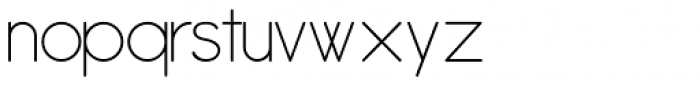 Antipasto ExtraLight Font LOWERCASE