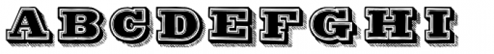 Antiqua Double12 Font UPPERCASE