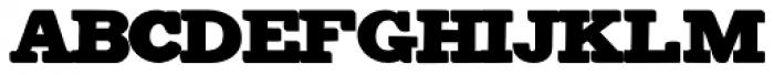 Antiqua Shaded Font UPPERCASE
