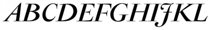 Antique Moderne Italic Font UPPERCASE