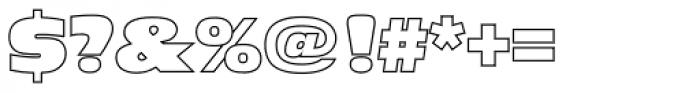 Antique Olive Nord Outline P Regular Font OTHER CHARS