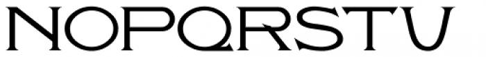 Antique Packaging JNL Regular Font LOWERCASE