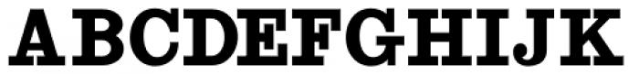 Antique Slabserif JNL Font UPPERCASE