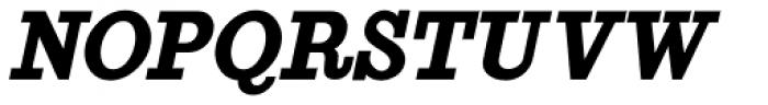 Antique Slabserif Oblique JNL Font UPPERCASE