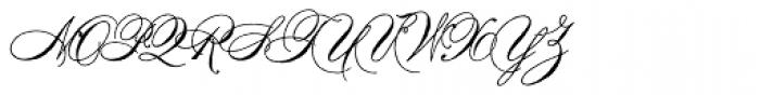 Antique Spenserian Font UPPERCASE