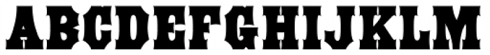 Antique Tuscan Condensed Bold Font LOWERCASE