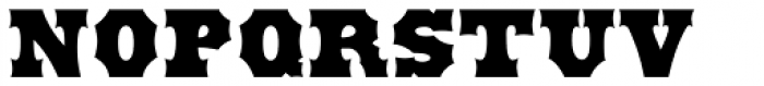 Antique Tuscan ExtraBold Font UPPERCASE