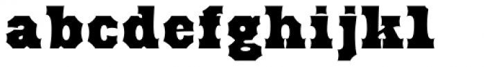Antique Tuscan ExtraBold Font LOWERCASE