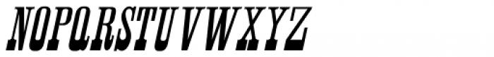 Antique Unique Oblique JNL Font LOWERCASE