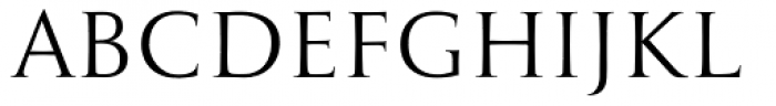 Antiqva Regular Font LOWERCASE